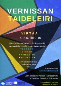Vernissan taidepäiväleiri 4.-8.6.