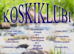 Vernissan Koskiklubit @ Kahvi Charlotta Vernissa (terassi) | Vantaa | Suomi