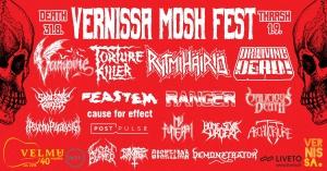 Velmuklubi: Mosh Fest @ Vernissasali | Vantaa | Suomi
