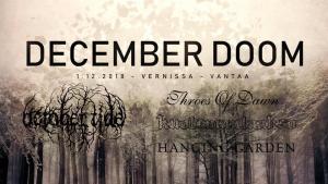 December Doom Vol 2 @ Vernissasali | Vantaa | Suomi
