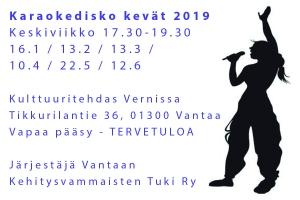 Karaokedisko @ Vernissasali | Vantaa | Finland