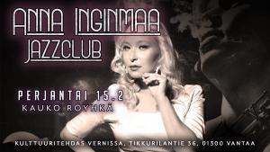 Anna Inginmaa Jazzclub: Kauko Röyhkä @ Vernissasali | Vantaa | Finland