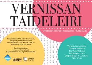 Taideleiri @ Kulttuuritehdas Vernissa | Vantaa | Finland