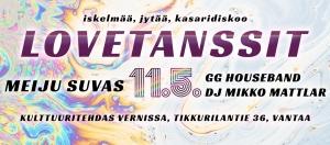 LOVETANSSIT w/ Meiju Suvas @ Vernissasali | Vantaa | Suomi