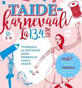 Taidekarnevaali @ Kulttuuritehdas Vernissa | Vantaa | Finland