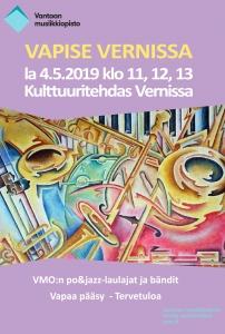 Vapise Vernissa @ Vernissasali | Vantaa | Finland