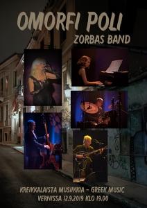 Zorbas-kvintetti: Omofri Poli @ Vernissasali | Vantaa | Finland