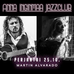 Anna Inginmaa Jazzclub: Martin Alvarado @ Vernissasali | Vantaa | Finland