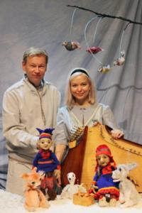 Nukketeatteri PikkuKulkuri: Nigan 8 vuodenaikaa @ Vernissasali | Vantaa | Finland