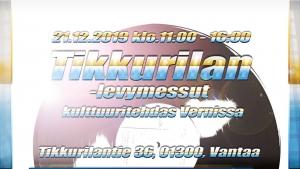Tikkurilan Levymessut @ Vernissasali | Vantaa | Finland