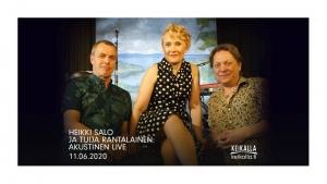 Heikki Salo ja Tuija Rantalainen: Akustinen Live @ Livestream: Keikalla.fi