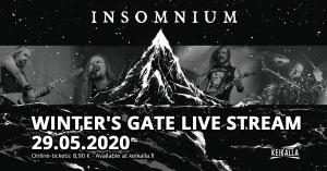 Insomnium: Winter's Gate Live Stream @ Livestream: Keikalla.fi