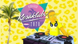 Vernissan kesäklubi - Pablo Discobar + Friends @ Kahvi Charlotta Vernissa | Vantaa | Finland